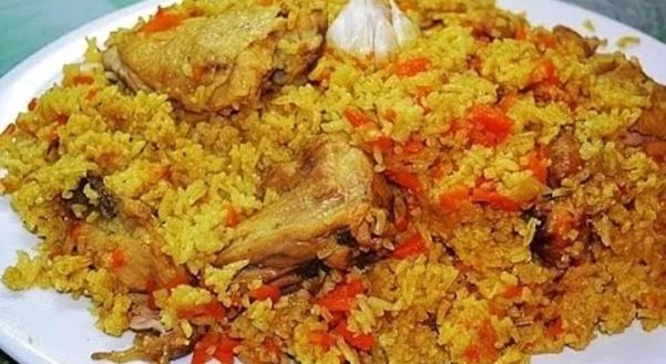 плов с курицей рецепт с фото пошагово