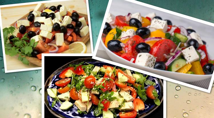греческий салат классический рецепт приготовления