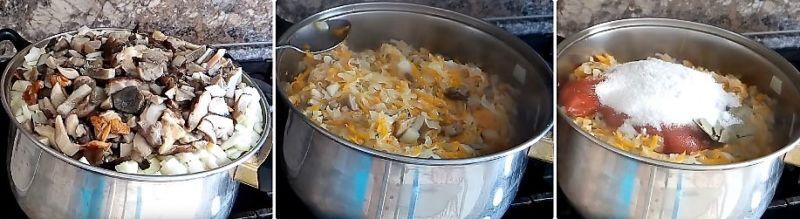 салат из капусты на зиму