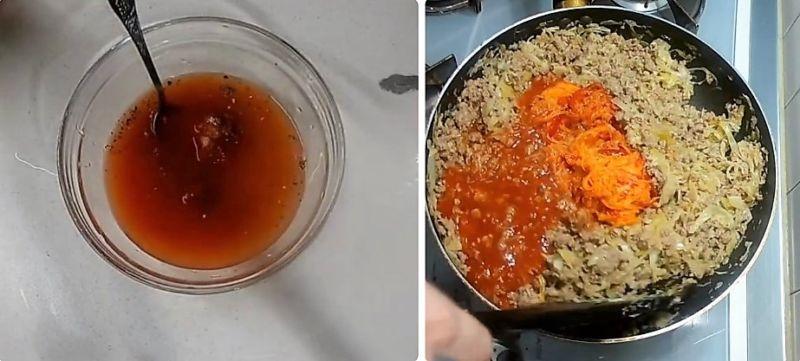 тушеная капуста классический рецепт