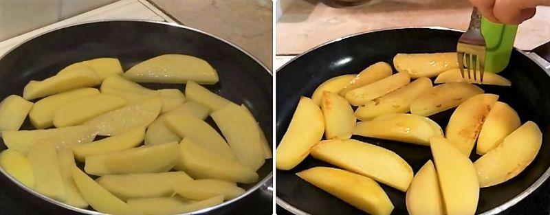 картошка по деревенски в духовке