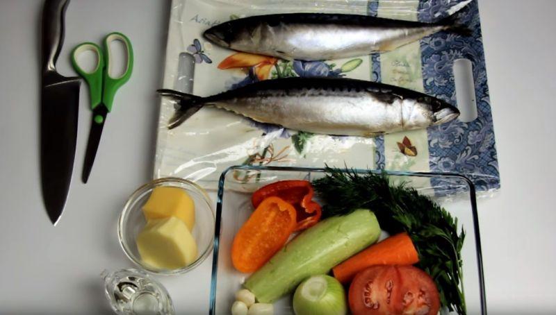 Как приготовить скумбрию в духовке   Семейный очаг   Яндекс Дзен