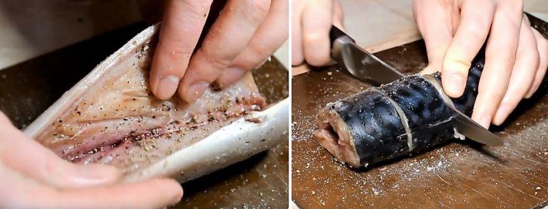 скумбрия запеченная в духовке