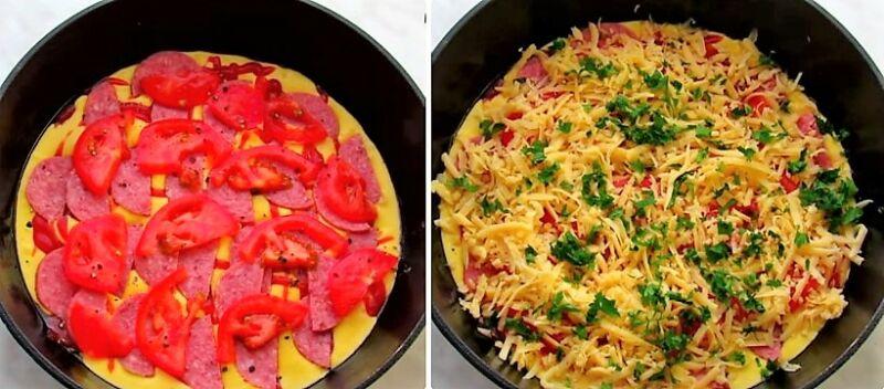 Как приготовить быстро пиццу на сковородке