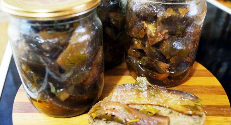 баклажаны на зиму лучшие рецепты