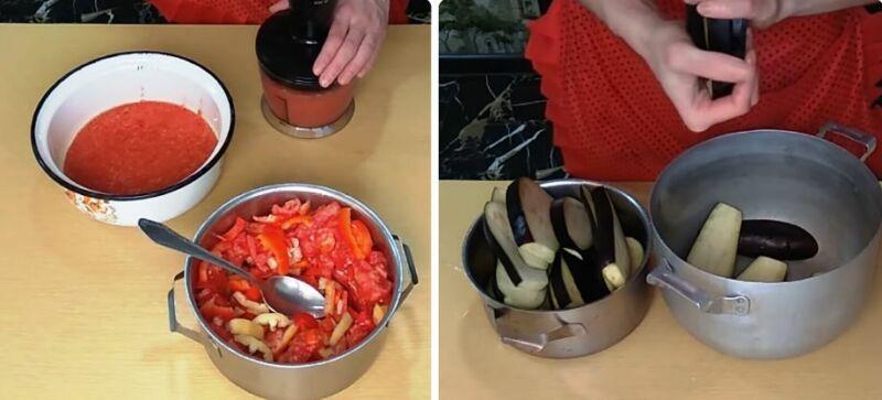 Баклажаны с чесноком на зиму лучшие рецепты