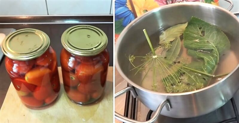 помидоры на зиму самый вкусный рецепт