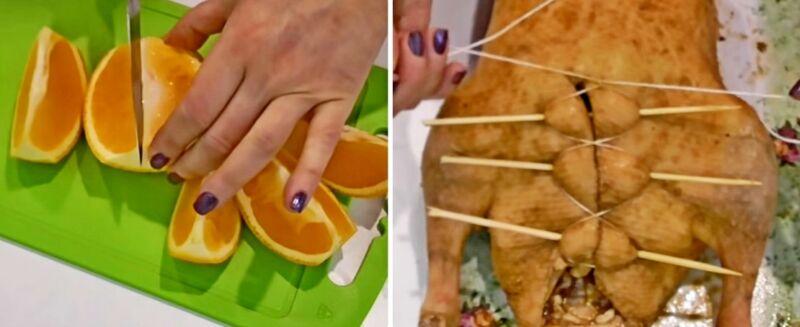 утка с апельсиновым соусом