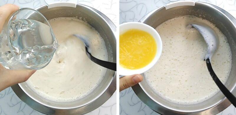 блинчики на молоке цветные