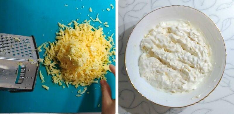 горбуша в духовке с сыром и сметаной