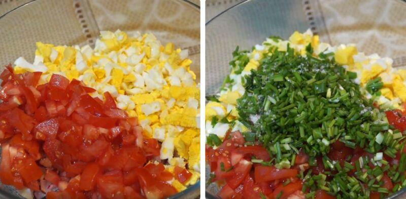салат с редиской и помидорами