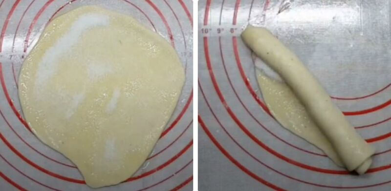 дрожжевые плюшки с сахаром
