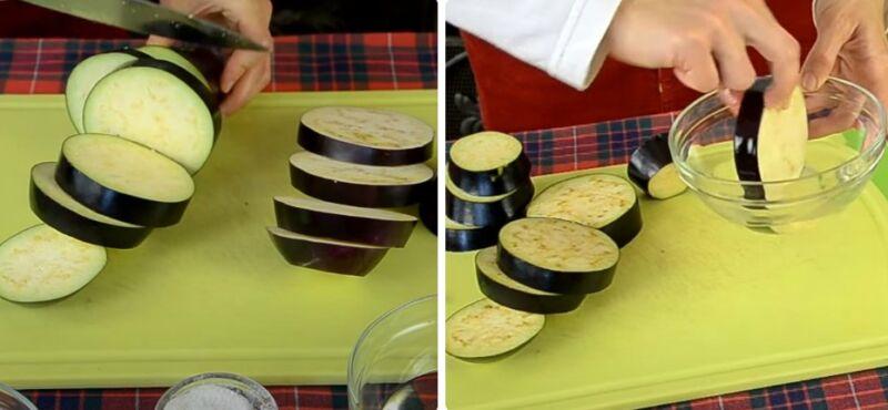 баклажаны в духовке кружочками