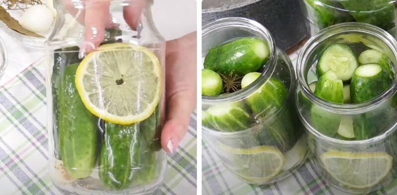 маринованные огурцы с лимонной кислотой
