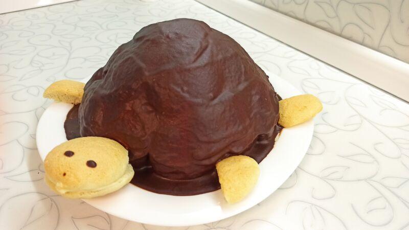 черепаха торт рецепт