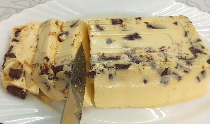 десерт без выпечки с желатином